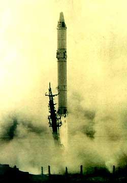 Стратегический ракетный комплекс Р-36 с орбитальной ракетой 8К69 ...