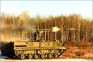 """противотанков ракетен комплекс 9К123 """"Хризантема-С"""""""