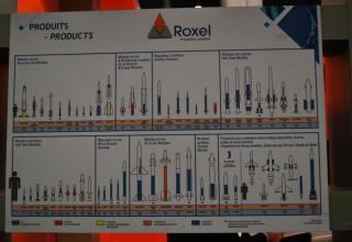 Постер с продукцией компании Roxel (Франция). ©О.В. Герман