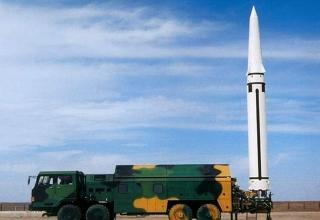 ПУ Df-15 на шасси TAS5450 ракета DF-15B