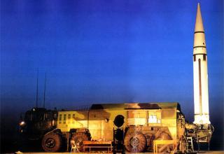 ПУ Df-15 на шасси TAS5450 ракета DF-15A