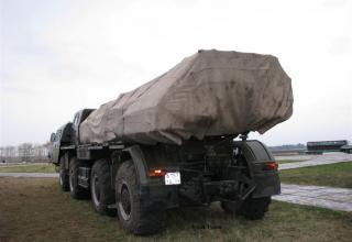 БМ 9А52 в походном положении