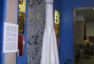 Макет ракеты-носителя