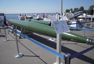 Скоростная подводная ракета