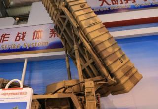 Китайский тактический ракетный комплекс B-611M на выставке Airshow China 2012