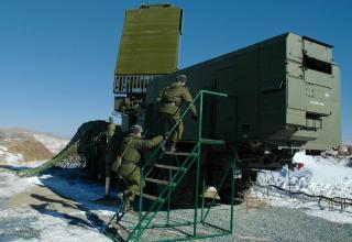 Тактические учения зенитчиков в Приморье