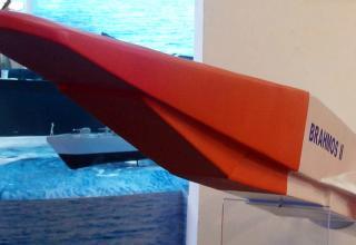 Модель перспективной гиперзвуковой крылатой ракеты BrahMos II