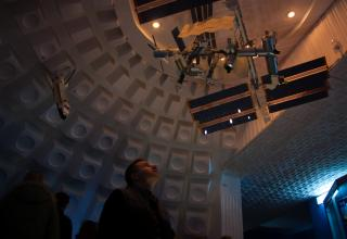 Экспозиция музея истории Космодрома Байконур