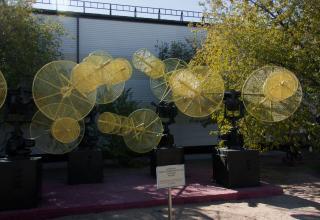 Антенны радиотелеметрической станции МА-9МК. Применялись для обеспечения запусков РН «Союз», «Протон» 1970-2000 гг.