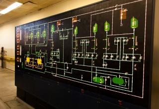 Аппаратура контроля командно-заправочного пункта РКН «Энергия»