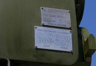 """Схема порядка схода реактивных снарядов калибра 220 мм из транспортно-пусковых контейнеров из состава РСЗО """"Найза"""""""