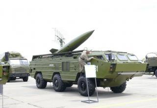 Боевая машина ракетного комплекса