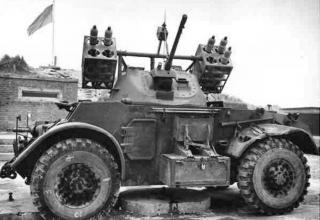 Canadian-Staghound-RocketCarrier-RCAC-England1945.