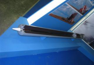Макет неуправляемого реактивного снаряда М0.1.01.04 для стрельбы с помощью боевых машин тяжелых огнеметных систем ТОС-1 и ТОС-1А