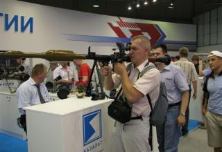 Макет ручного противотанкового гранатомета