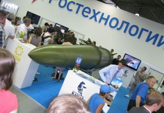 Макет управляемой ракеты комплекса Искандер-Е