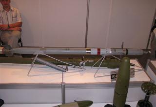 Макет ракеты переносного зенитного комплекса Игла-С1