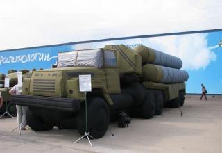 Пневматический макет установки 5П85ТМ комплекса С-300