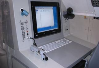 Одно из рабочих мест опытного образца унифицированной командно-штабной машины МП32М1
