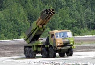 Опытный образец боевой машины 9А52-4. ©С.В. Гуров (Россия, г.Тула)