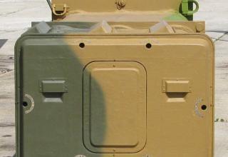 Опытный образец транспортно-пускового контейнера 9Я295. ©С.В. Гуров (Россия, г.Тула)