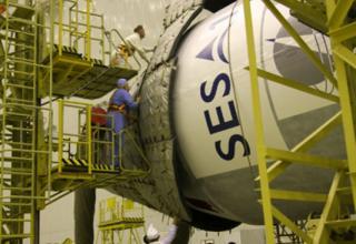 Государственная комиссия приняла решение о вывозе ракеты-носителя «Протон-М» на стартовый комплекс