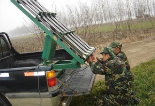Современные метеорологические установки Китая