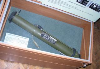 Макет гранатомета одноразового применения 6Г22