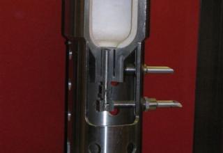 Данные экспериментального жидкостного ракетного двигателя ОРМ-9.