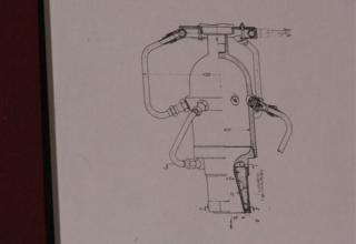 Данные опытного жидкостного ракетного двигателя ОРМ-52.