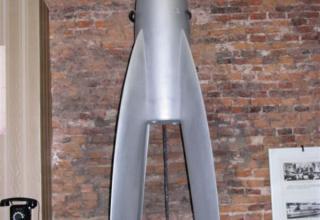 Макет регистрирующей ракеты В.В. Разумов с ЖРД ЛРД-Д-1 конструкции А.Н.Штерна с высотой подъема 5 км. Разработка ЛенГИРД 1932 г.