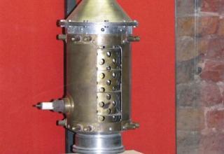 Макет ракетного двигателя 09.