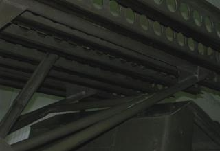 Вид элементов конструкции метательной установки установки М-13