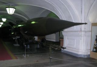 Общий вид макета ракеты Р-2 (8Ж38)