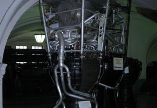Макет жидкостного ракетного двигателя РД-101 (8Ж-38) от баллистической ракеты Р-2