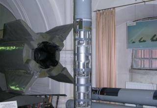 Макет КГЧ 9Н152 КРС 9М55К1 из состава РСЗО