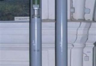 Макеты неуправляемых реактивных снарядов 9М43 и 9М28К калибра 122 мм