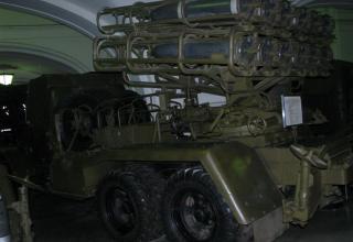 Вид сбоку боевой машины БМ-24