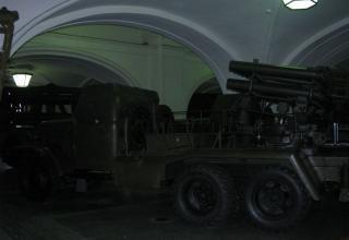 Вид сбоку боевой машины БМ-14