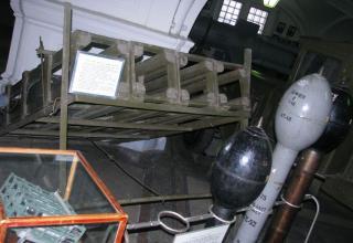 Вид спереди пускового станка М-30