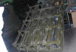 Вид сверху пускового станка М-30