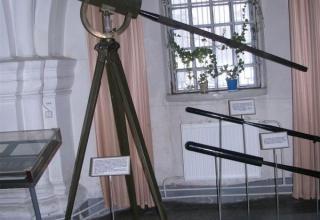 Макет станка и макет 3-дюймовой (76-мм) осветительная ракета конструкции Завадовского обр. 1886 г.