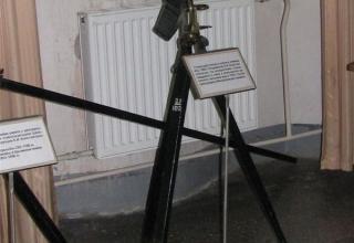 Макет станка для пеших и конных команд обр.1869, разработанного К.И. Константинова