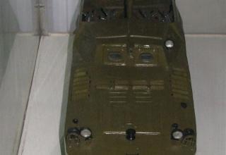 Макет боевой машины 9П110 противотанкового ракетного комплекса 9К14