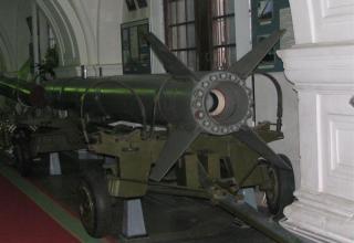 Макет ракеты 9М21 тактического ракетного комплекса 9К52