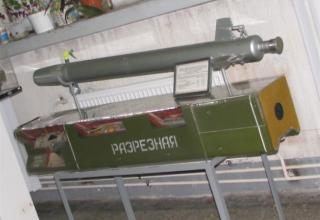 Макет зенитной управляемой ракеты 9М31 зенитно-ракетного комплекса