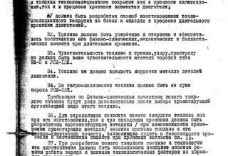 """Тактико-технические требования на ОКР """"Дивизионная полевая реактивная система """"Град"""""""