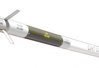 Рисунок опытного образца турецкой управляемой ракеты Cirit с лазерным наведением