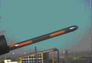 Ракета Cirit при сходе из направляющей