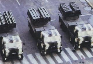 Боевые машины РСЗО Lynx в Азербайджане (Израиль)